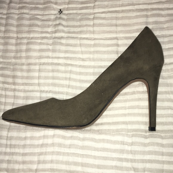 diverse styles best deals on special selection of Size 7.5 Olive green heels!